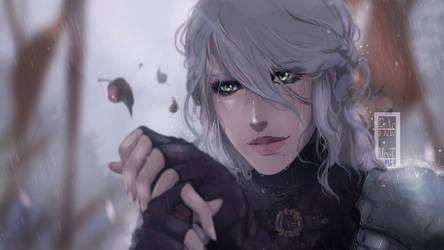 The Witcher 3 - Ciri by IFrAgMenTIx