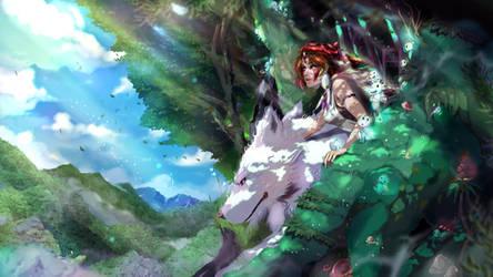 Princess Mononoke by IFrAgMenTIx