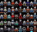 [100 FS] (Sprite) SkeleBros in 25 Differents AU's
