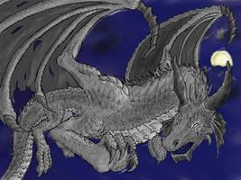 Moonlit Dragon WIP
