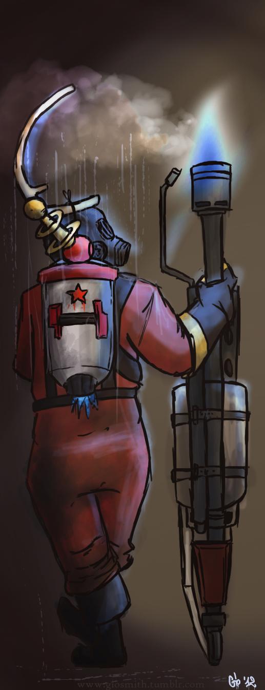 Flame by spookyfoxmulder