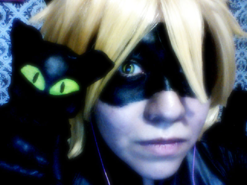 Plagg and Chat Noir by Furieta