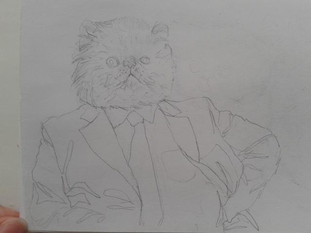 Mr.Fat Cat by Slacker3