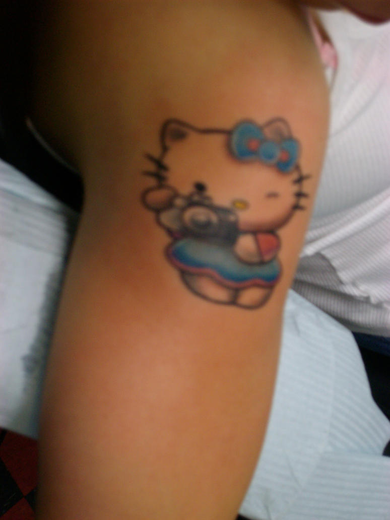 Hello Kitty Tattoo