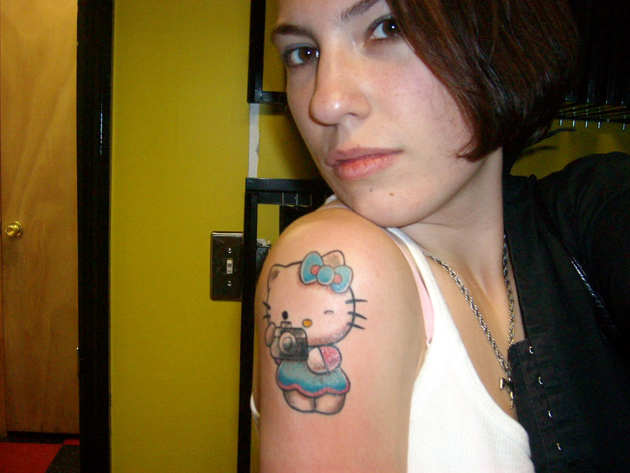 Hello Kitty Tattoo 2