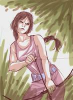 Hunger Games: Katniss by amandioka