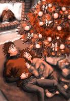 H-Hr Christmas by amandioka