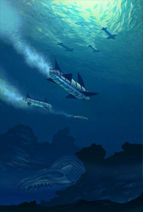The Keys of Marinus - Acid Sea by Harnois75