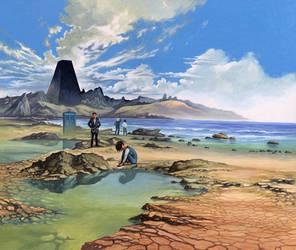 The Keys of Marinus - Island by Harnois75