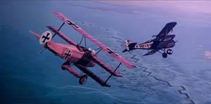 air combat WW1
