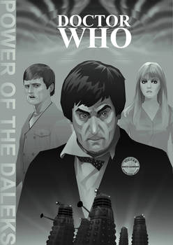 Power of the Daleks Poster