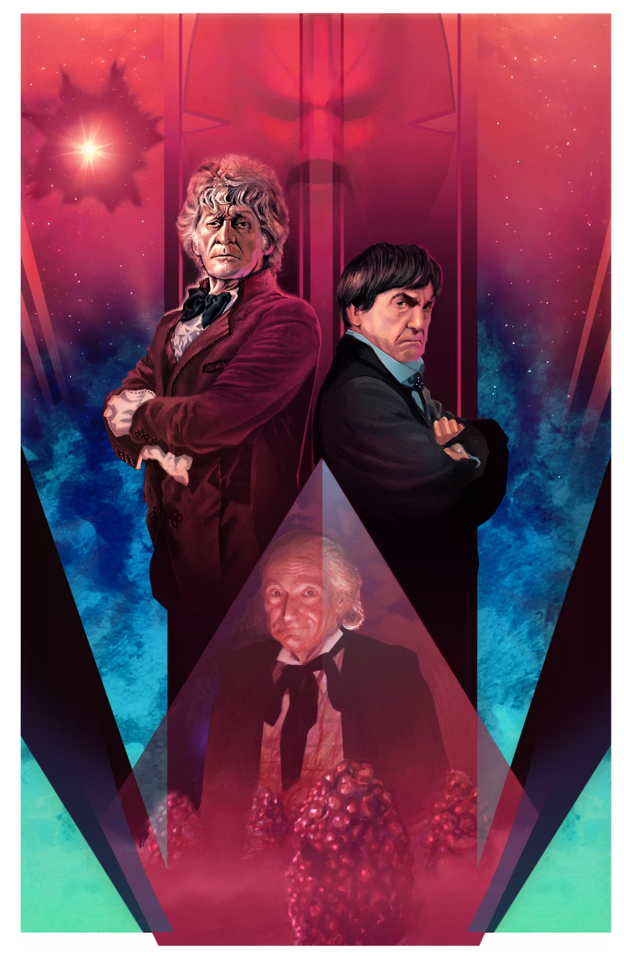 The Three Doctors by Harnois75