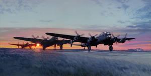 Lancasters - night mission