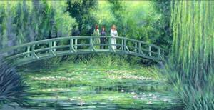 Lungbarrow - Monet landscape