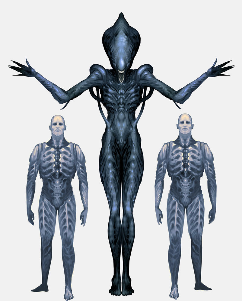 Prometheus Deacon Concept Art