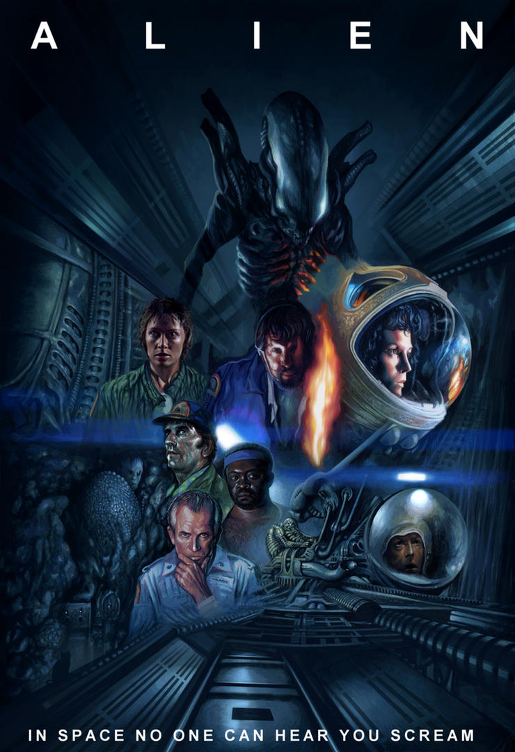 Alien poster by Harnois75
