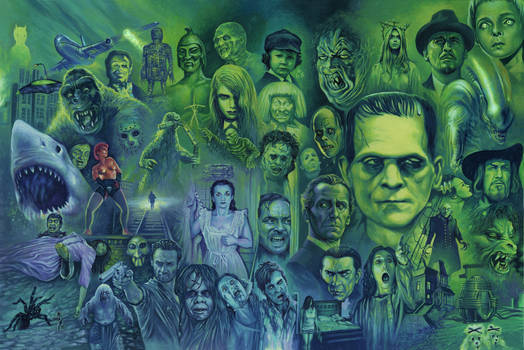 A History of Horror by Harnois75
