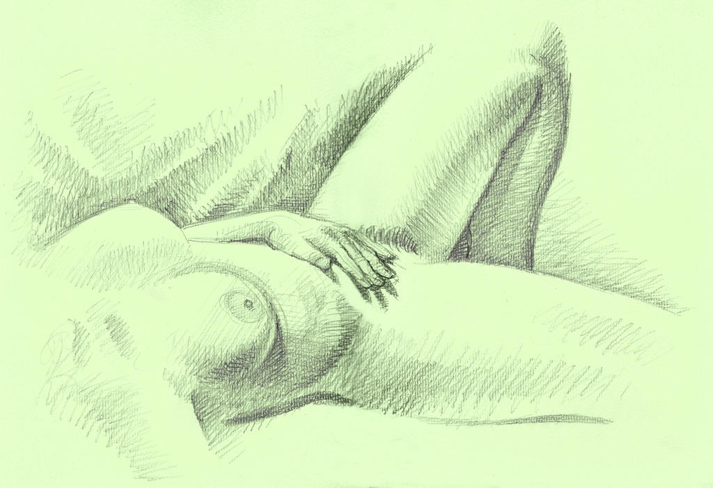 Nude torso by Harnois75