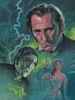 The Curse of Frankenstein by Harnois75