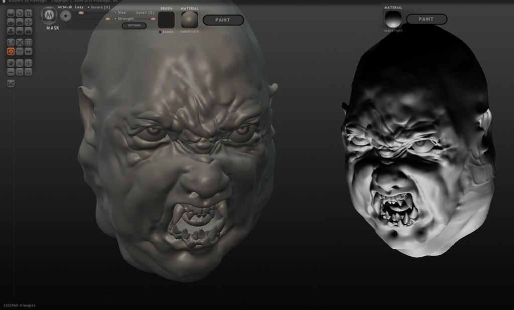 Norris - 3D Sculpt by Harnois75