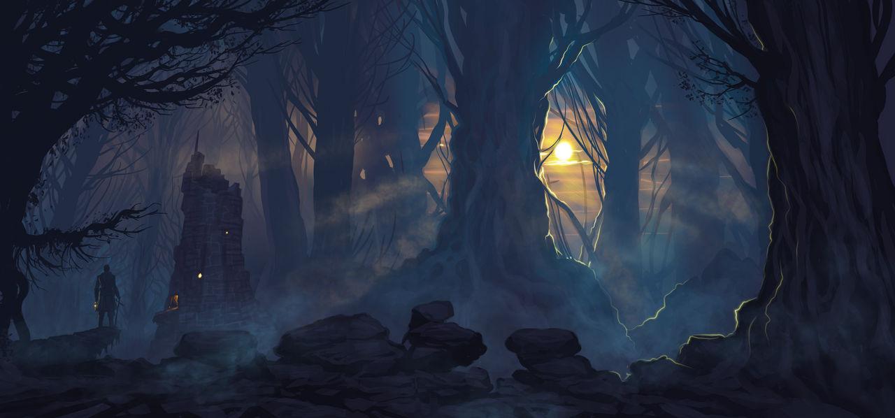Speedpaint - Forest Keep
