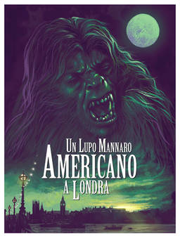 American Werewolf - speed paint