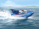 Speedpaint - Batboat
