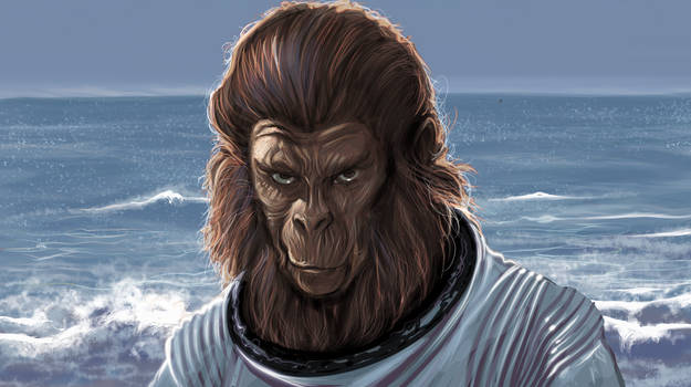 Speedpaint - Escape from the Planet of the Apes