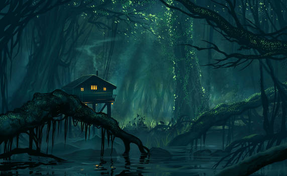Speed-paint - Jungle House