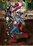 Captain America vs Red Skull 2