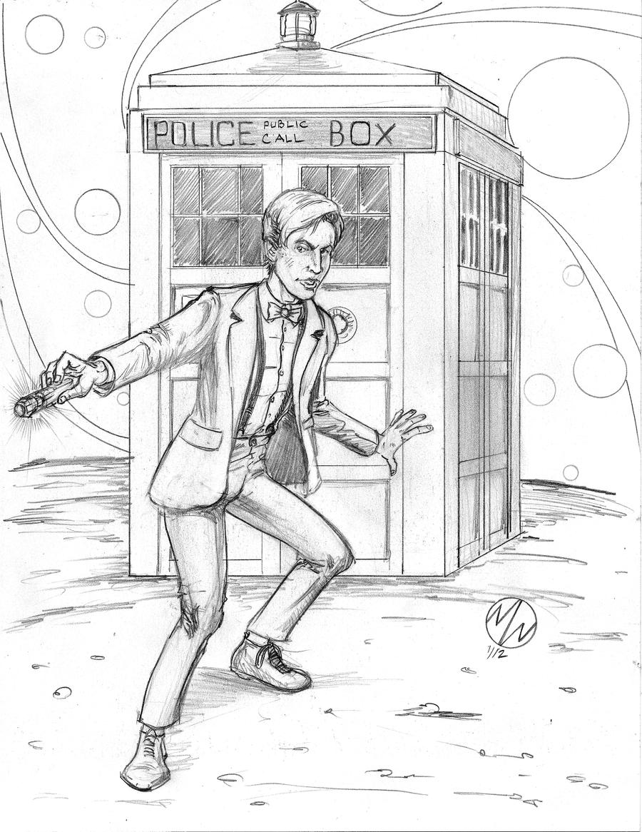 doctor who matt smith by wedmer on deviantart