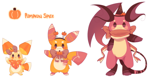 Halloween Pika Evolution Line .:CUSTOM:.