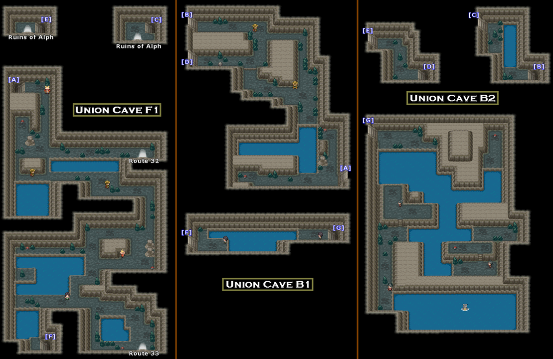 Union Cave Map PNG by stonemonkthewise on DeviantArt