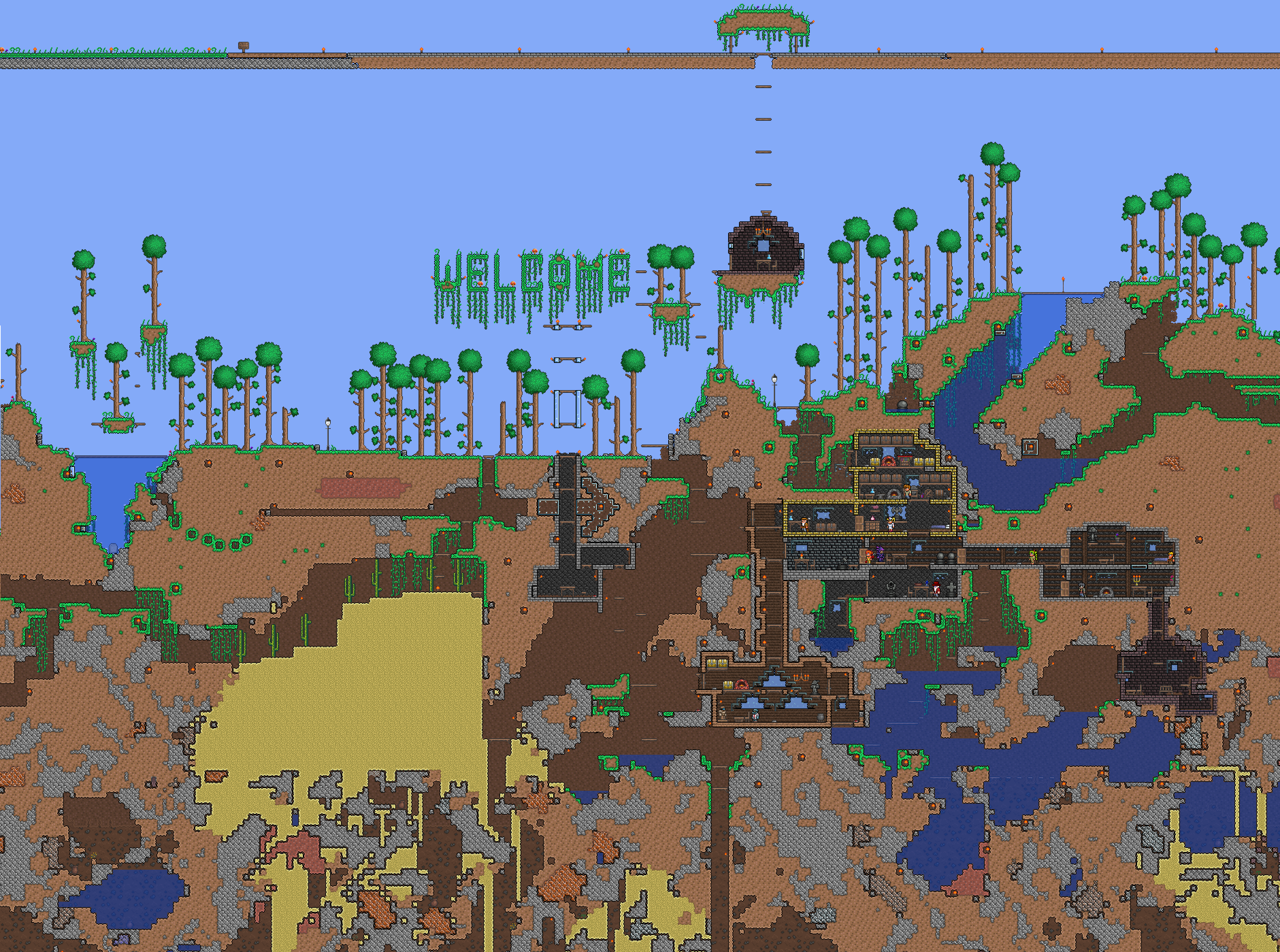 where are terraria worlds saved