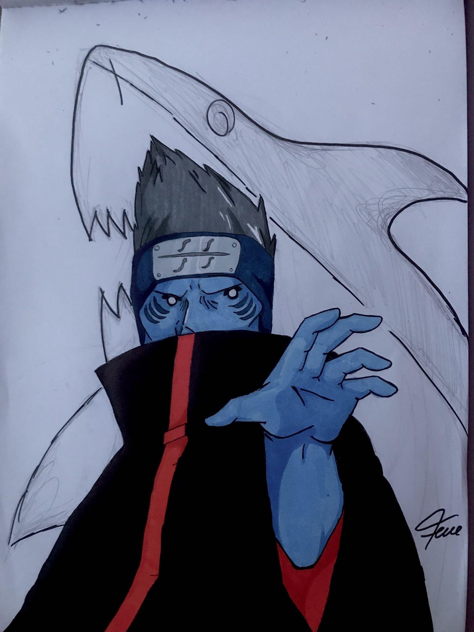 Naruto Kisame Hoshigaki By Madibinks8 On Deviantart