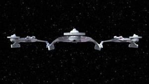 Klingon D7-K'Tinga Patrol