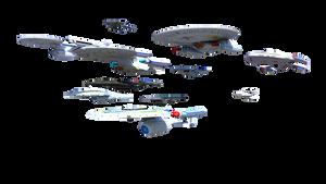 Terran Empire Fleet 1