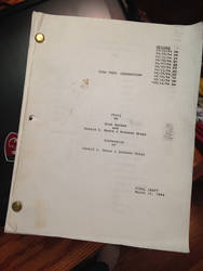 Star Trek VII Generations script by FleetAdmiral01