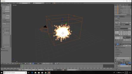 Explosion in Blender by FleetAdmiral01