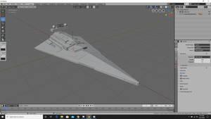 Star Destroyer Custom Model