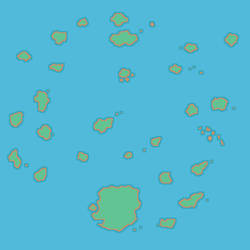Orange Islands HGSS map style by abcboyck