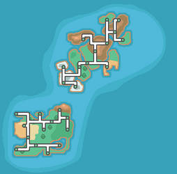 HGSS TCG Islands map by abcboyck