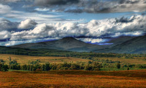 Hills of Scotland by Airoy