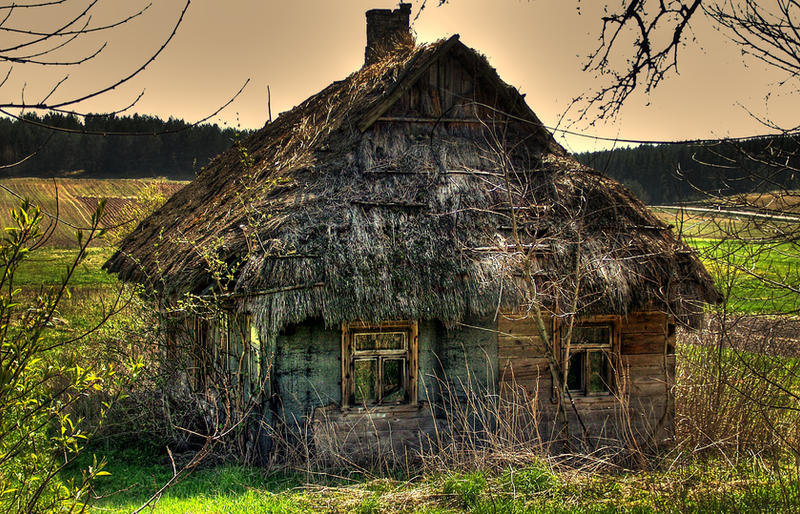 Abandoned Hut by Airoy