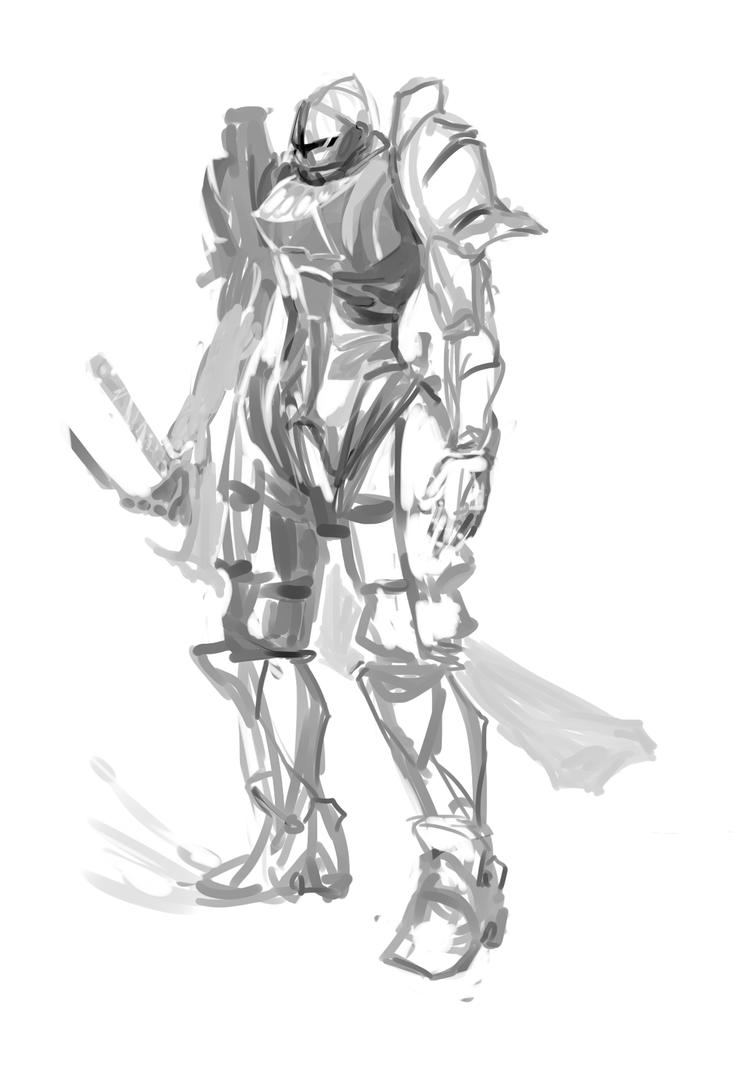 Knight by Oname-Etear