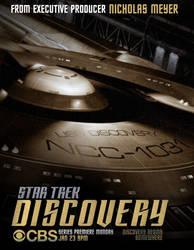 Star Trek - Discovery Poster by NoPlanes