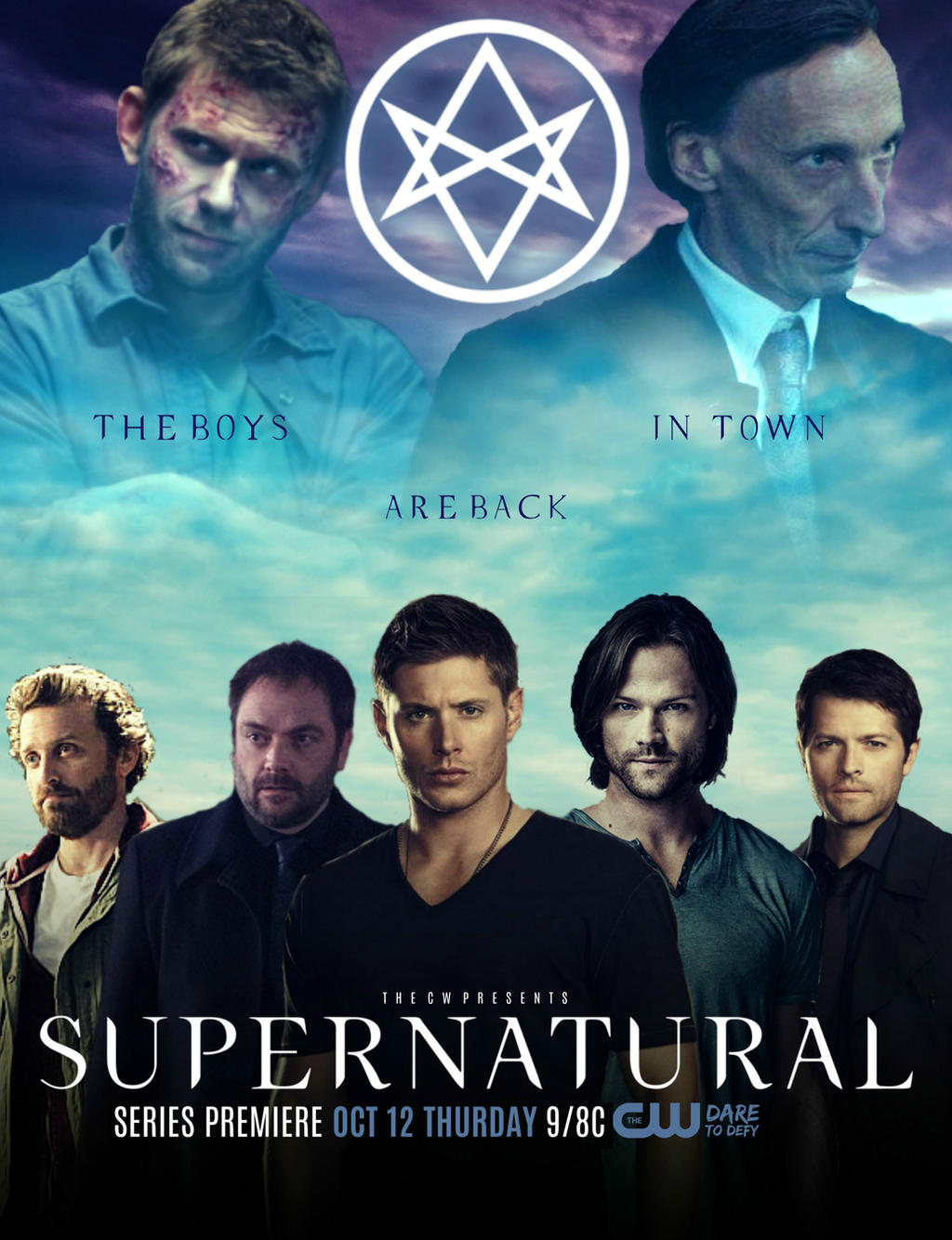 Supernatural - Season 12 Poster by NoPlanes on DeviantArt