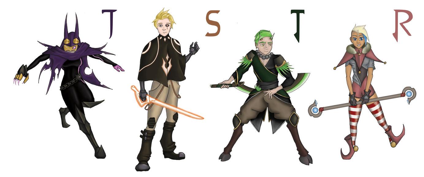 Team JSTR [RWBY Fan-Art] by Cetah