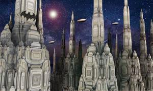 The dark cities II - Gotham city