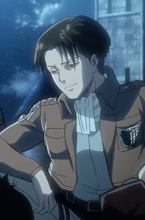 attack on titan birth of levi ova 2 smiling by